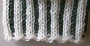 Knitting Ribbing With Two Colors : Conquering corrugated ribbing mabel