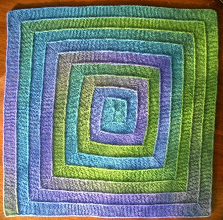 Ten Stitches Nine Spirals One Complete Blanket Mabel Mabel